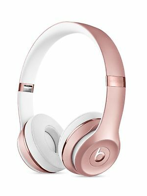 Beats by Dr. Dre Solo3 Wireless Headphones - Rose Gold- NEW AND SEALED