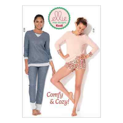 Kwik Sew Sewing Pattern K0228 Misses' Tops, Shorts and Pants