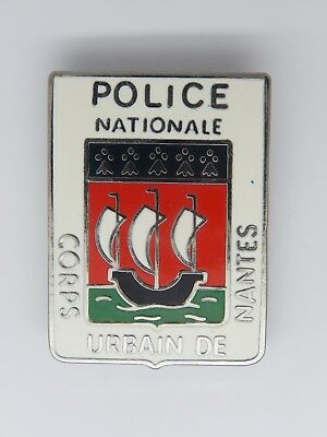 Insigne Police - Obsolete - Police Nationale - Corps Urbain De Nantes