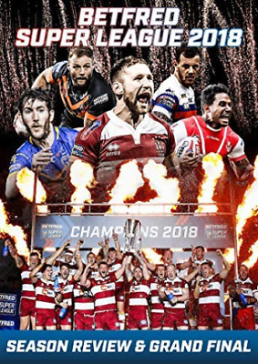 Betfred Super League 2018 + Season Review & Grand (UK IMPORT) DVD [REGION 2] NEW
