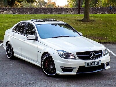 Mercedes-Benz C Class C63 Amg 6.3 Mct 7S 2013.5My W/ High Spec+36,500Mls Only!+