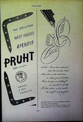 Retro 1940's Advertising - Small Page of Mixed Ads - Vintage Adverts - 109/01