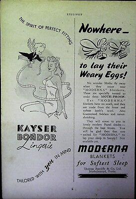 Retro 1940's Advertising - Small Page of Mixed Ads - Vintage Adverts - 109/03