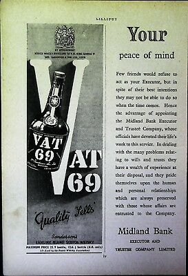 Retro 1940's Advertising - Small Page of Mixed Ads - Vintage Adverts - 109/04