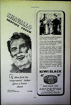 Retro 1940's Advertising - Small Page of Mixed Ads - Vintage Adverts - 109/05