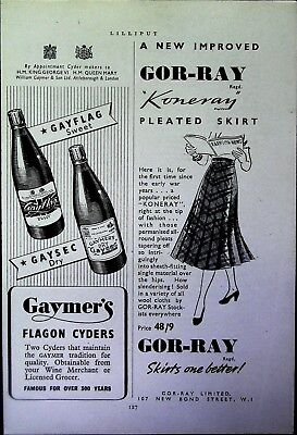 Retro 1940's Advertising - Small Page of Mixed Ads - Vintage Adverts - 109/11