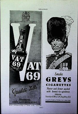 Retro 1940's Advertising - Small Page of Mixed Ads - Vintage Adverts - 109/12
