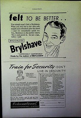 Retro 1940's Advertising - Small Page of Mixed Ads - Vintage Adverts - 109/17