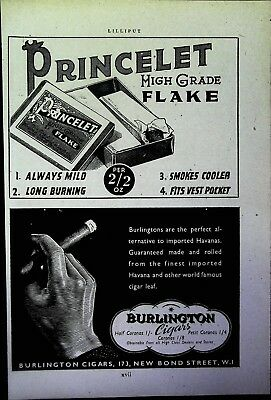 Retro 1940's Advertising - Small Page of Mixed Ads - Vintage Adverts - 109/22