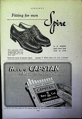 Retro 1940's Advertising - Small Page of Mixed Ads - Vintage Adverts - 109/28