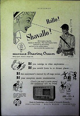 Retro 1940's Advertising - Small Page of Mixed Ads - Vintage Adverts - 109/29