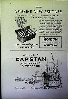 Retro 1940's Advertising - Small Page of Mixed Ads - Vintage Adverts - 109/35