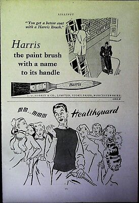 Retro 1940's Advertising - Small Page of Mixed Ads - Vintage Adverts - 109/36