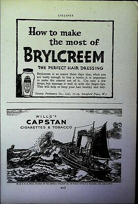 Retro 1940's Advertising - Small Page of Mixed Ads - Vintage Adverts - 109/44