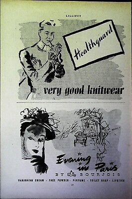 Retro 1940's Advertising - Small Page of Mixed Ads - Vintage Adverts - 109/47