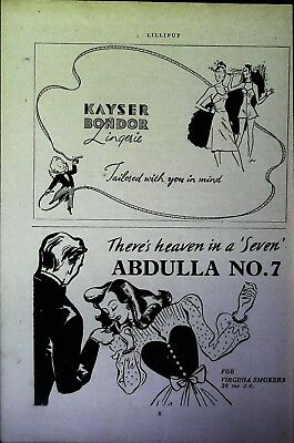 Retro 1940's Advertising - Small Page of Mixed Ads - Vintage Adverts - 109/48