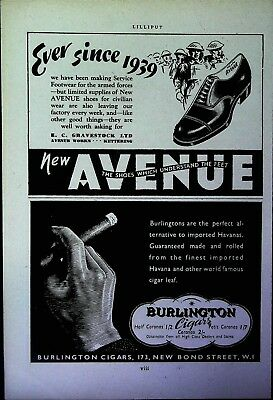 Retro 1940's Advertising - Small Page of Mixed Ads - Vintage Adverts - 110/01