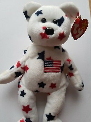 2fa55807411 Glory Retired TY 1998 - Excellent Condition - Original official RARE BEAR