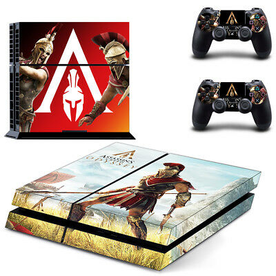 PS4 Skin Sticker Vinyl for Console & 2 Controllers Assassin's Creed Odyssey