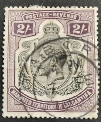 Tanganyika 1927-31 KGV 2s Deep Purple. Fine Used. SG103.
