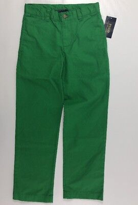 POLO RALPH LAUREN Boys' Chinos Pants, Spring Green, size 6 yearsp