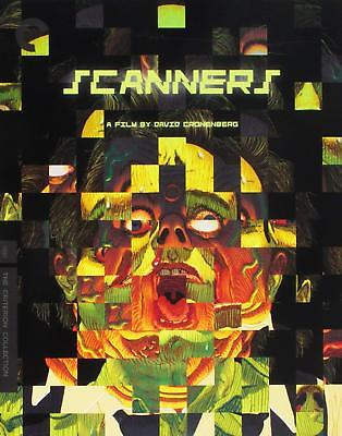 NEW ~ Scanners Blu-ray (Criterion Collection) David Cronenberg