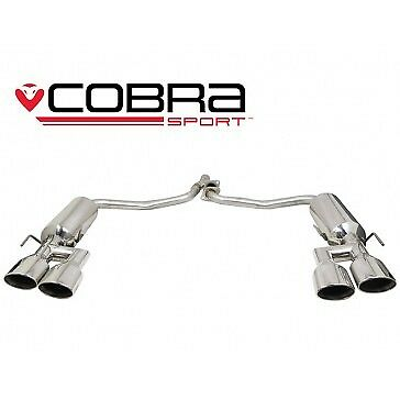Cobra Sport Mercedes W204 C200/C220/C250 (Diesel)  AMG Quad rear Section exhaust
