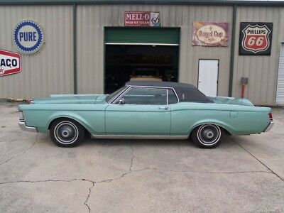 1969 Lincoln Continental Mark III 1969 Lincoln Continental Mark III Original 460 V8 All Power Options A/C LOOK