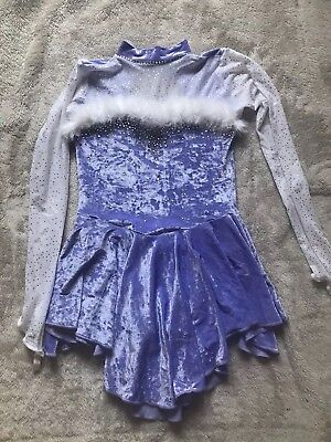 Lilac Ice Skating Dress (Age 11-13)