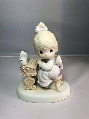 "1991 ENESCO PRECIOUS MOMENTS ""You Are The Type I Love"" 523542 RETIRED"