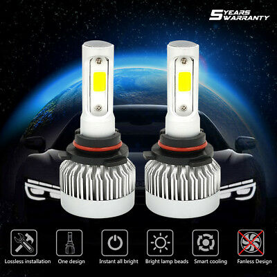 CREE LED Headlight Kit 9005 HB3 1650W 247500LM 6000K High Beam White Bulbs Power