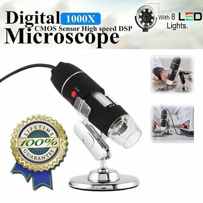 1600X WiFi Digital Microscope USB Camera Microscopio Electronic Magnifier EM