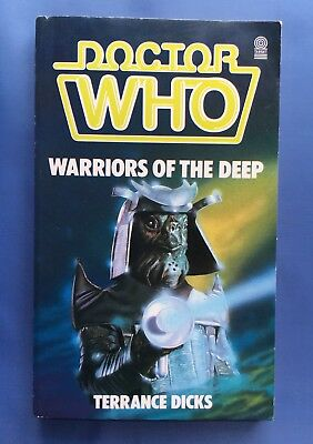 Doctor Who - Warriors of the Deep - 1st edition - Target 87 - Terrance Dicks
