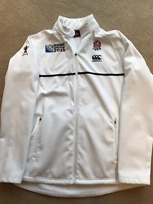 Official England Rugby Anthem Jacket, Rugby World Cup 2015, Size XL
