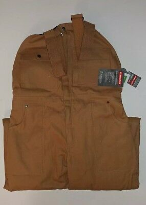 NWT Men's Craftsman Insulated Bib Overalls. Sz Med. Cont U.S. shipping only