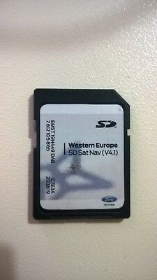 Ford Navigatore Satellitare Navigazione Card Sd V4.1 Europa Occidentale