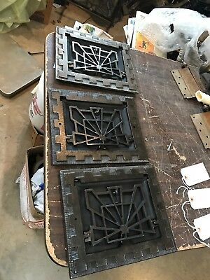 D 21 3Available PriceSeparate Antique Deco Wall Mount Heating Grate 9 5/8 X11 5/