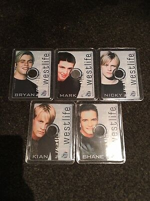Westlife Cd-roms Mini Discs Set PC 5 Members