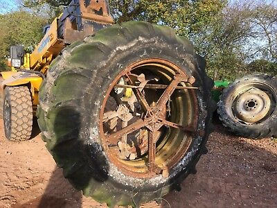 16.9 14 38 tractor daul wheels and tyres