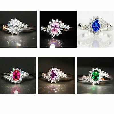 Silver Jewelry With 925 Silver Rings Decorated With Zircon Stones NS