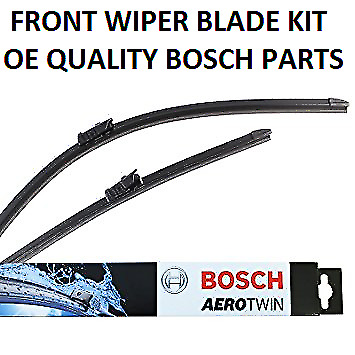 Ford Transit Courier Front Windscreen Wiper Blade Set 2014-On *BOSCH AEROTWIN*