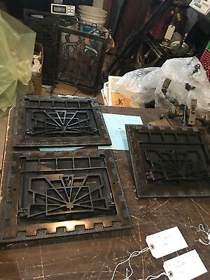 D 26 ThreeAv Price Each Antique Deco Wall Mount Heating Grate 13 5/8 x 11.75