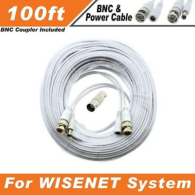SDH-C84080 Lot of 4 150ft Samsung Wisenet Compatible HD Cable f// 5MP SDH-C85105