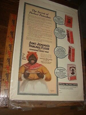 1916 Aunt Jemima Ad from Ladies' Home Journal- special rag doll offer