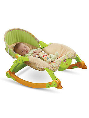 """Fisher-Price """"Mocha Butterfly"""" Comfy Time Bouncer"""