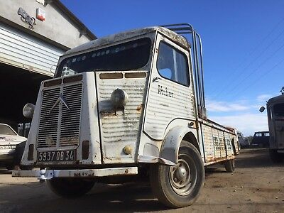 Citroen HY super long pick up, rolling shell, ideal static foodtruck or promo