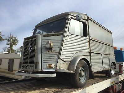 Citroen HY. Ideal food truck, running order and very clean condition.