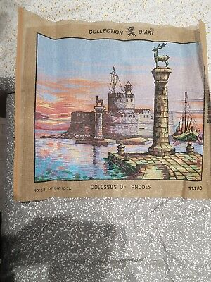 Tapestry Canvas Collection D'art Colossus Of Rhodes