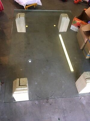 """Marble Table Tempered Glass 6' X 4' 3/4"""" Thick"""