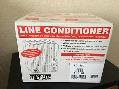 NEW NEVER OPENED  Tripp Lite LC-1800 Line Conditioner 6 Outlets